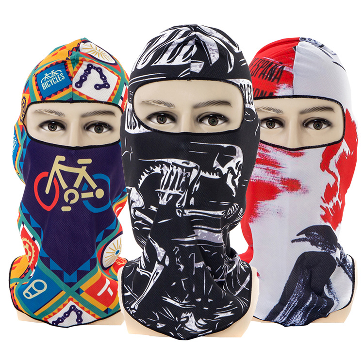 Sports Ski Motorcycle Face Masks Bicycle Balaclava Scarf Head Wear Outdoor Windshield Full Face Mask