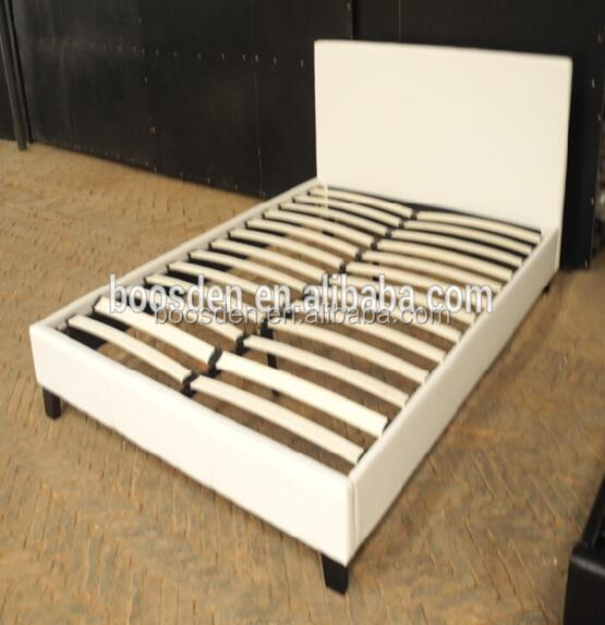 wholesale practical wooden bed models furniture living room leather upholstered bed BSD-450108
