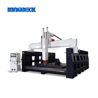 Multi Function 5 Axis Heavy Duty Woodworking CNC Router Machine Center