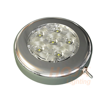 4 inch LED Puck Light with Switch led dome light use in boat and rv
