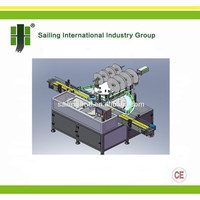 Rotary Wide-mouth Aluminum Induction Sealing Machine
