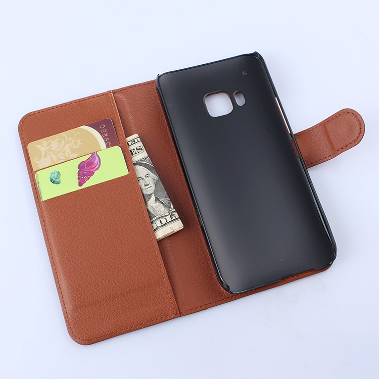 Economic hot sale leather mobile phone case for htc one m9