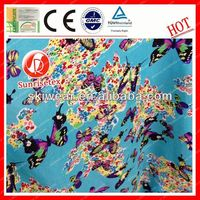 Static Free Popular polyester dupioni silk fabric