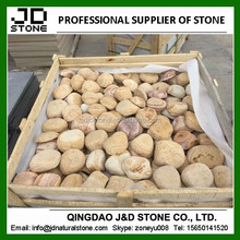 sandstone pebble pavers/ sandstone pebbles