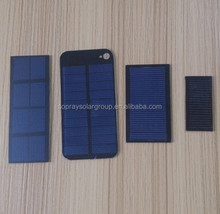 6V3W small PET laminated solar panel