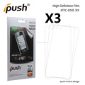 Fatory price PET Material Clear Screen Protector For HTC one X10