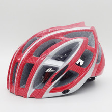 impact-absorbing EPS foam liner wind tunnel ventilation bike helmet