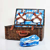 best sale high quality willow picnic basket wholesale