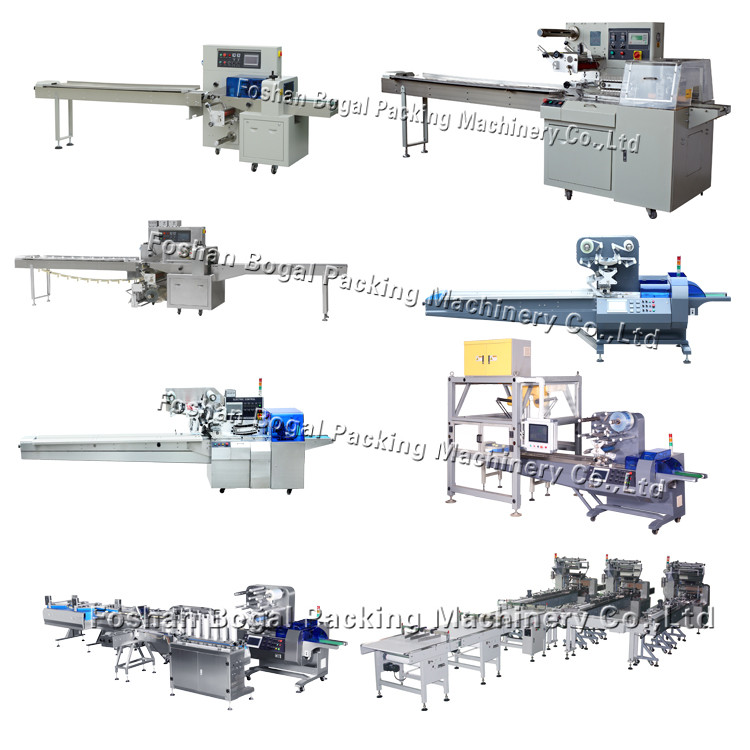 Widely used granola bar flow rotary packaging machine