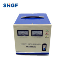 SVC 3000VA AC Automatic Voltage Stabilizers Servo Motor type