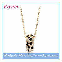 Wholesale jewelry gold plated ring fancy necklace design fine jewellery