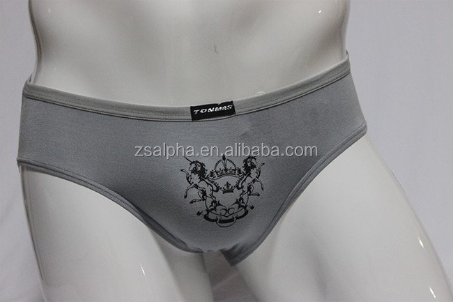 men's underwear custom logo of mens briefs