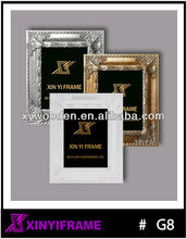 stand up wooden picture frames with back brace