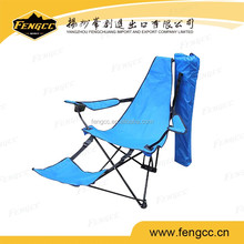 hot sale beach chair with foot rest,folding chair