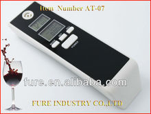Fure Portable LED Breath Dual LCD Display Breathalyzer Alcohol Tester Wholesale fuel cell alcohol breath tester