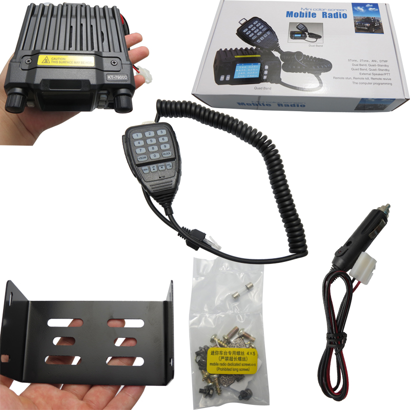 Quad Band Mobile Radio Transceiver