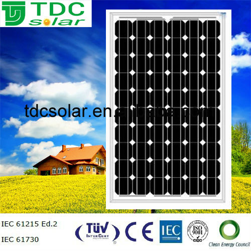 High efficiency 235w transparent solar panel with TUV,IEC,CE certificate