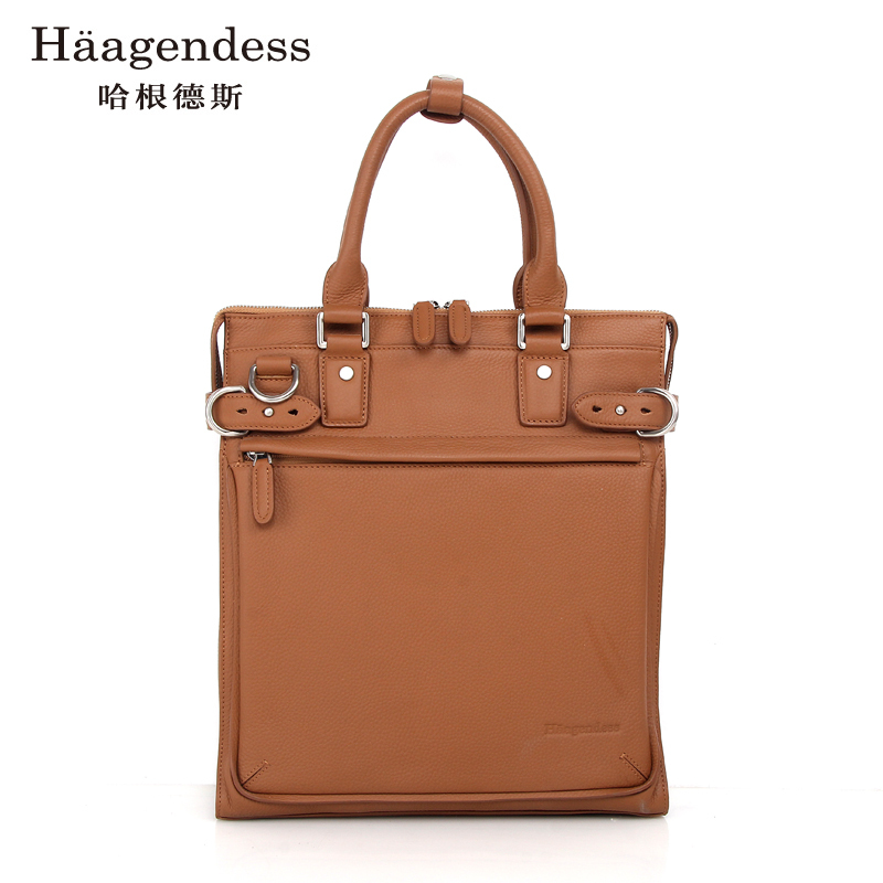 High fashion and luxury genuine leather briefcase Mens leather bags handbags designers
