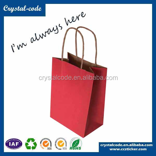 Hot sale waterproof free samples fsc storage rice kraft paper bag