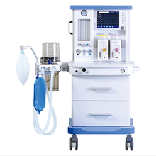 Large Screen display S6100 medical equipment hospital anesthesia ventilator with trolley