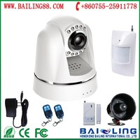 Low price 3G video camera alarm system support talk back function E800