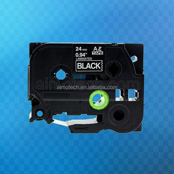 Compatible Tz-365 Tze-365 Label Tape (36mm X 8m,White On Black ...