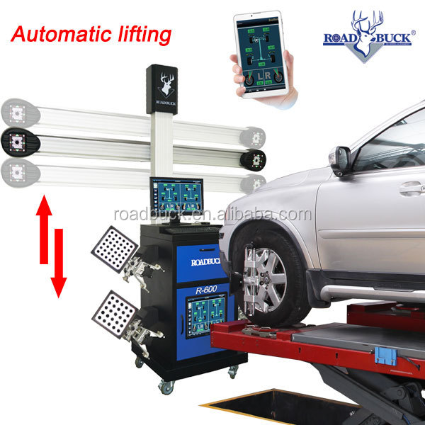 3d wheel aligner wheel alignment slip plates