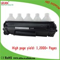 UCAN CTSC like printer ink cartridge, reusable cartridge, at least 12,000 pages, lowest cost for HP 12A 35A 36A 85A 83A 78A 88A