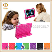 Handle kick stand for ipad mini case for kids