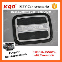 Exterior Accessories TANK COVER GAS COVER CHROMED BLACK For TOYOTA INNOVA 2012-2015 Hot Selling India Market