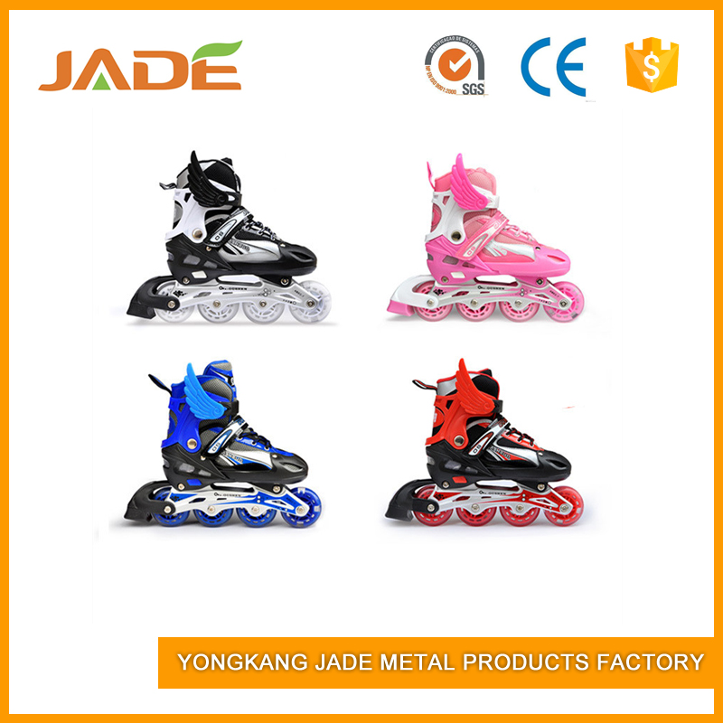 2017 new design professional city run sew skate shoes for kids