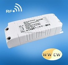 20W 700ma 30v dc 2.4G RF Dimmable CC LED driver rf remote control for lighting rf system