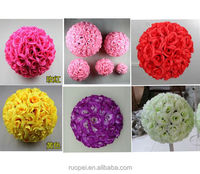 Wholesale Wedding Decorative Silk Artificial Ball Flowers