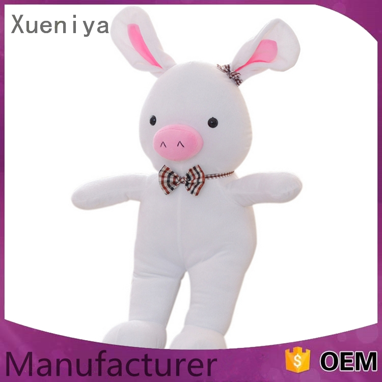 Popular Rabbit Type And Plush Material Plush Bunny Rabbit Toy