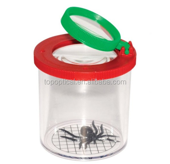 Insect magnifier box, teaching aids for children