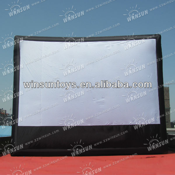 Popular advertisement inflatable outdoor screen material