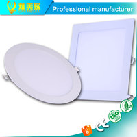 AC85-265V Round Square LED Panel Light 3w SMD2835 LED Ceiling Recessed Light Ultra Thin Led Panel Lighting