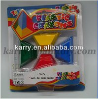 PLASTIC Crayons for kids with ASTM D 4236, EN71 NON TOXIC