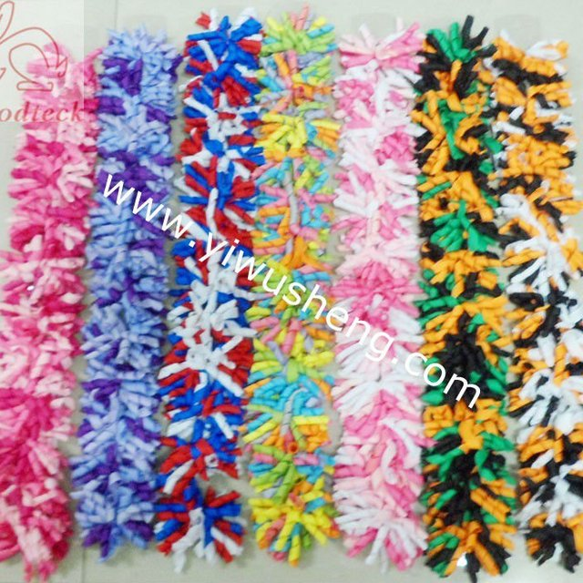 2012 hot sale ! colorful korker hair bow for christmas festival