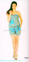 women short jumpsuit and romper printed jumpsuits,india wholesale jumpsuits