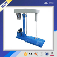 Emulsion paint Hydraulic Lifting mixing machine