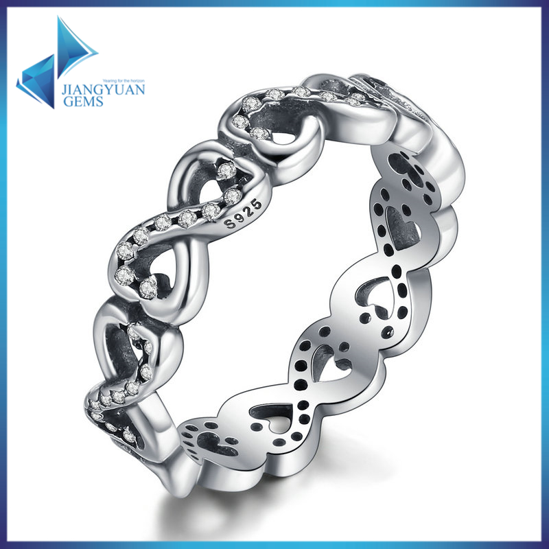 fashion jewelry sterling silver 925 diamonds rings price