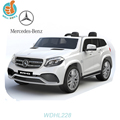 Licensed MercedesWDHL228 BENZ GLS 63 2 seats, with 2.4g r/c, music and light, leather seat EVA wheel optional