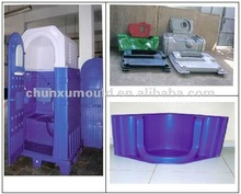Rotational moulding portable toilet OEM with military field exercise
