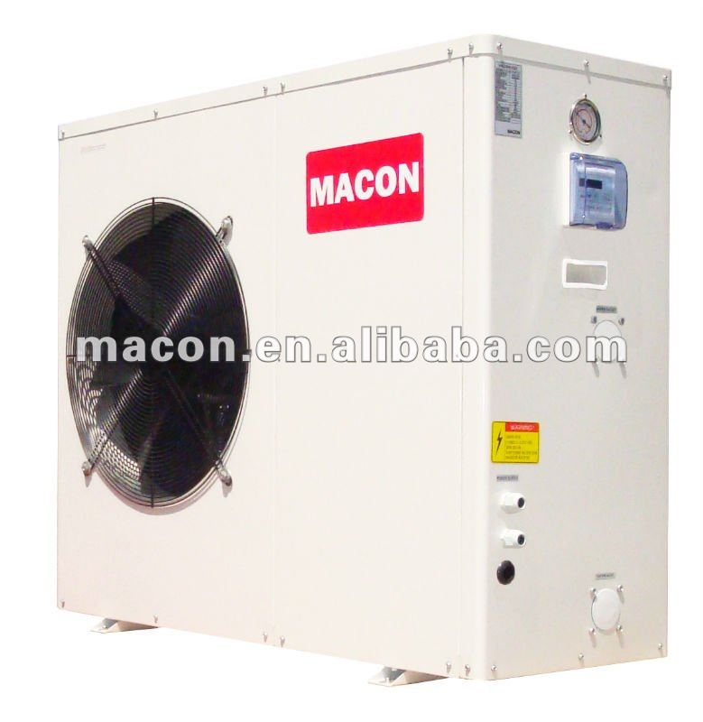 DC inverter 15Kw plate heat exchanger air source multi-function cooling heating heat pump water heater