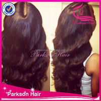 7A Grade 100% Unprocessed Malaysian Body Wave Full Lace Wig With Baby Hair Around the Perimeter