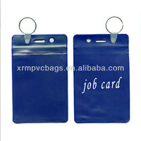 Company common key ring job card