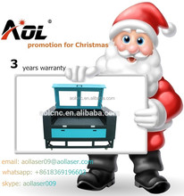 Christmas promotion AOL 1390 cheap laser cut wood panels made in china