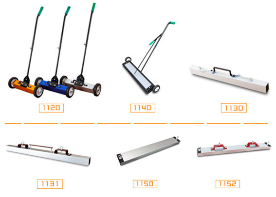 Factory Direct Sale Various Reliable Quality Magnetic Sweeper