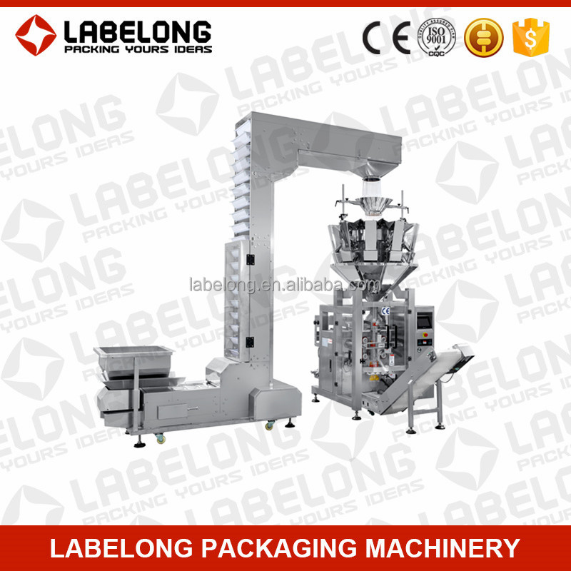 Full automatic fast speed cooked food packaging machine